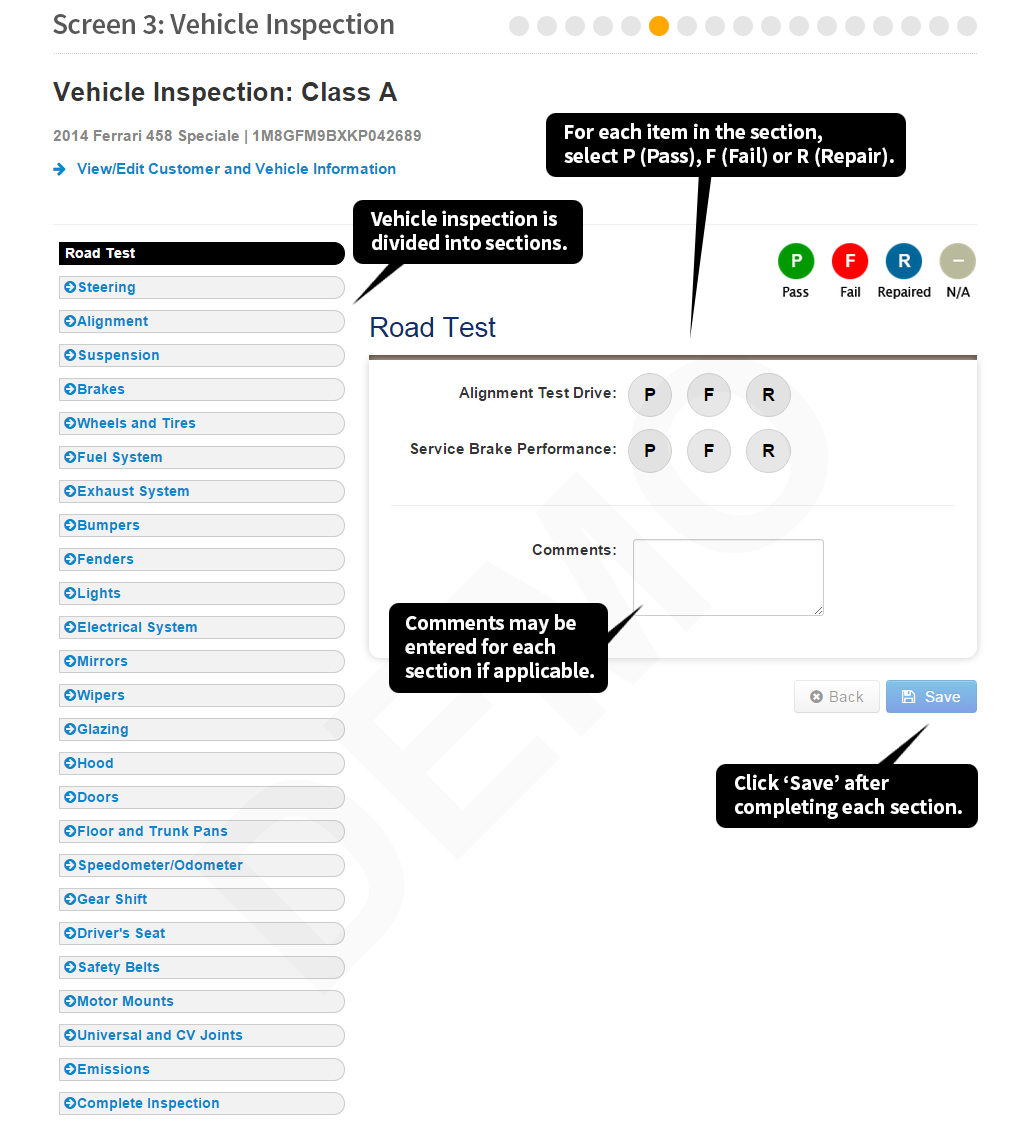 Maryland state police motor vehicle inspection maryland safety inspection system 1betcityfo Image collections