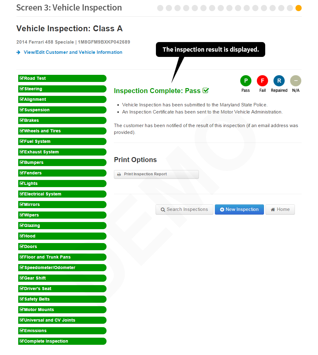 Maryland state police motor vehicle inspection for Department of highway safety and motor vehicles phone number